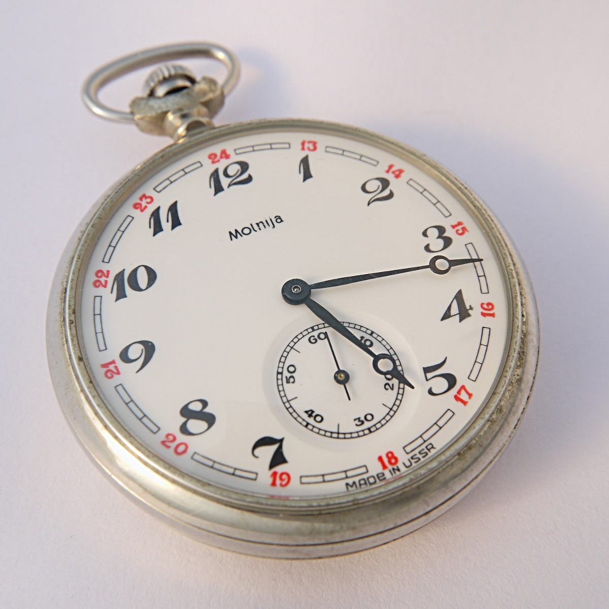 molnija pocket watches
